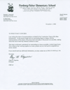 Click here to view the letter from Fienberg-Fisher Elementary School