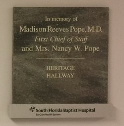Naming Opportunities Support Hospital Services