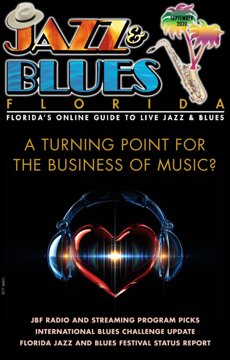 Jazz & Blues Florida September 2020 Issue