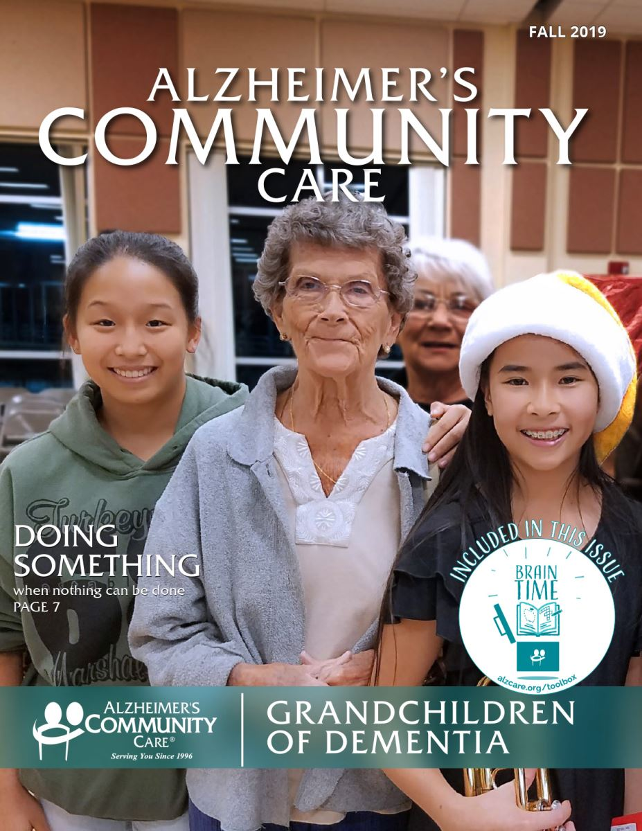 Alzheimer's Community Care Magazine - Fall 2019 (Cover)
