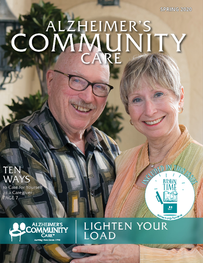 Alzheimer's Community Care Magazine - Spring 2020 (Cover)