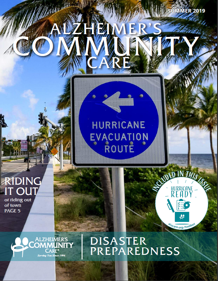 Alzheimer's Community Care Magazine - Summer 2019 (Cover)