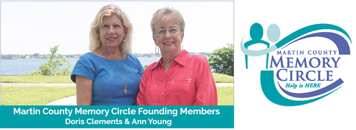 Martin County Memory Circle Founding Members - Dors Clements & Ann Young