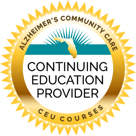 Alzheimer's Community Care is a Continuing Education Provider offering CEU Courses
