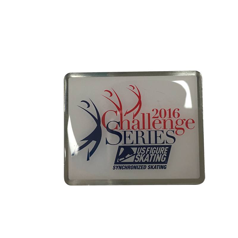 Custom designed 4 color enamel lapel pins, medals and awards from Ashworth Awards.