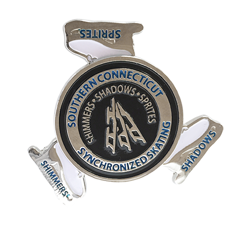 Custom lapel pins for business, sports and recreation events from Ashworth Awards.