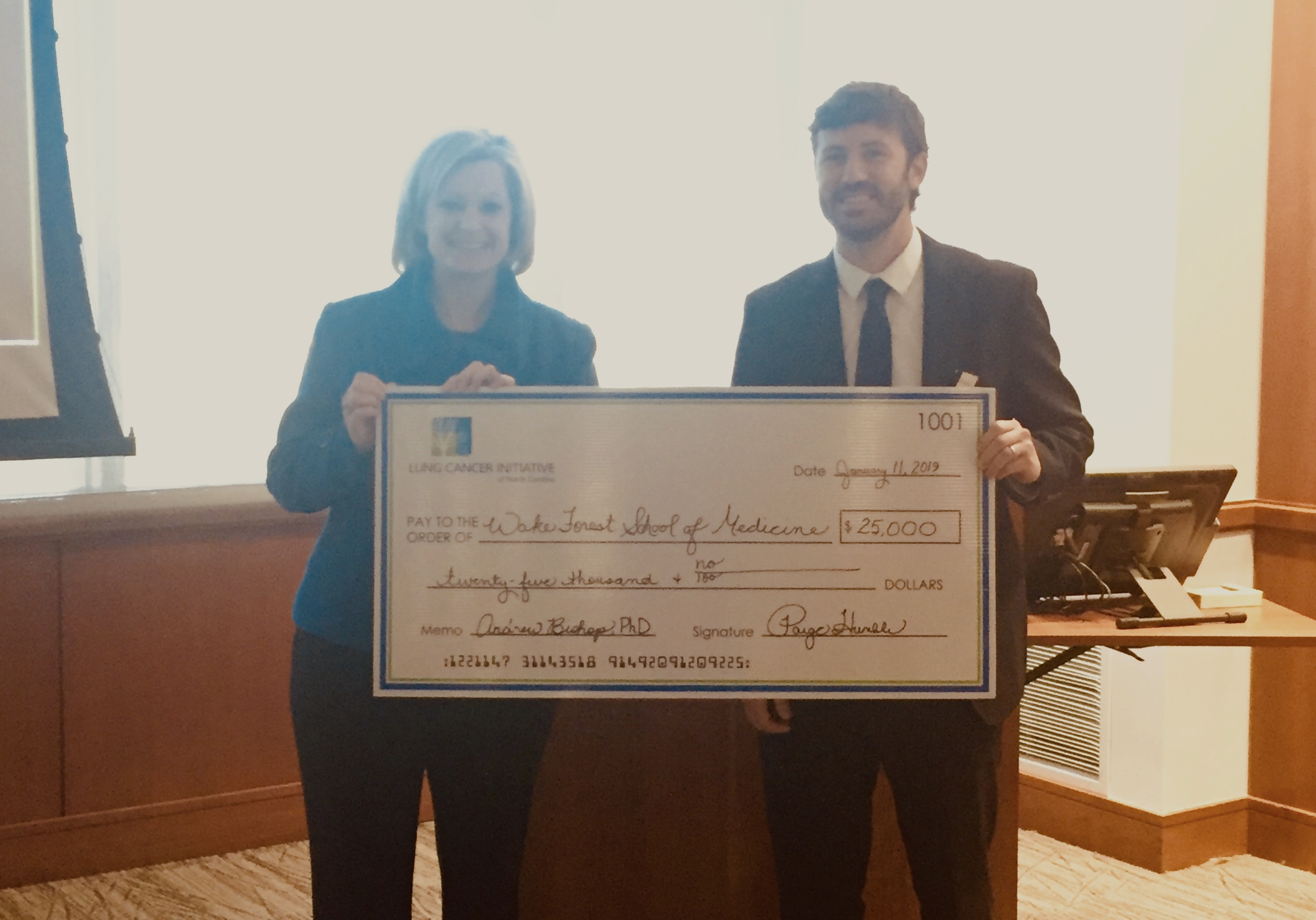 Inaugural Vicky Amidon Innovation Grant in Lung Cancer Research Award Studies the Potential of Breath for Earlier Lung Cancer Detection