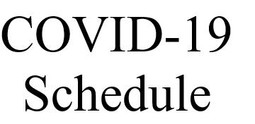 COVID-19 - Potentia Schedule