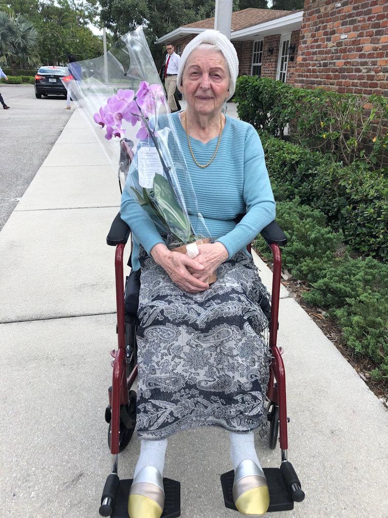 Holocaust Survivor Mrs. Tischler Visits Potentia