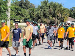 Palm Beach College Baseball Team Helps Students Train