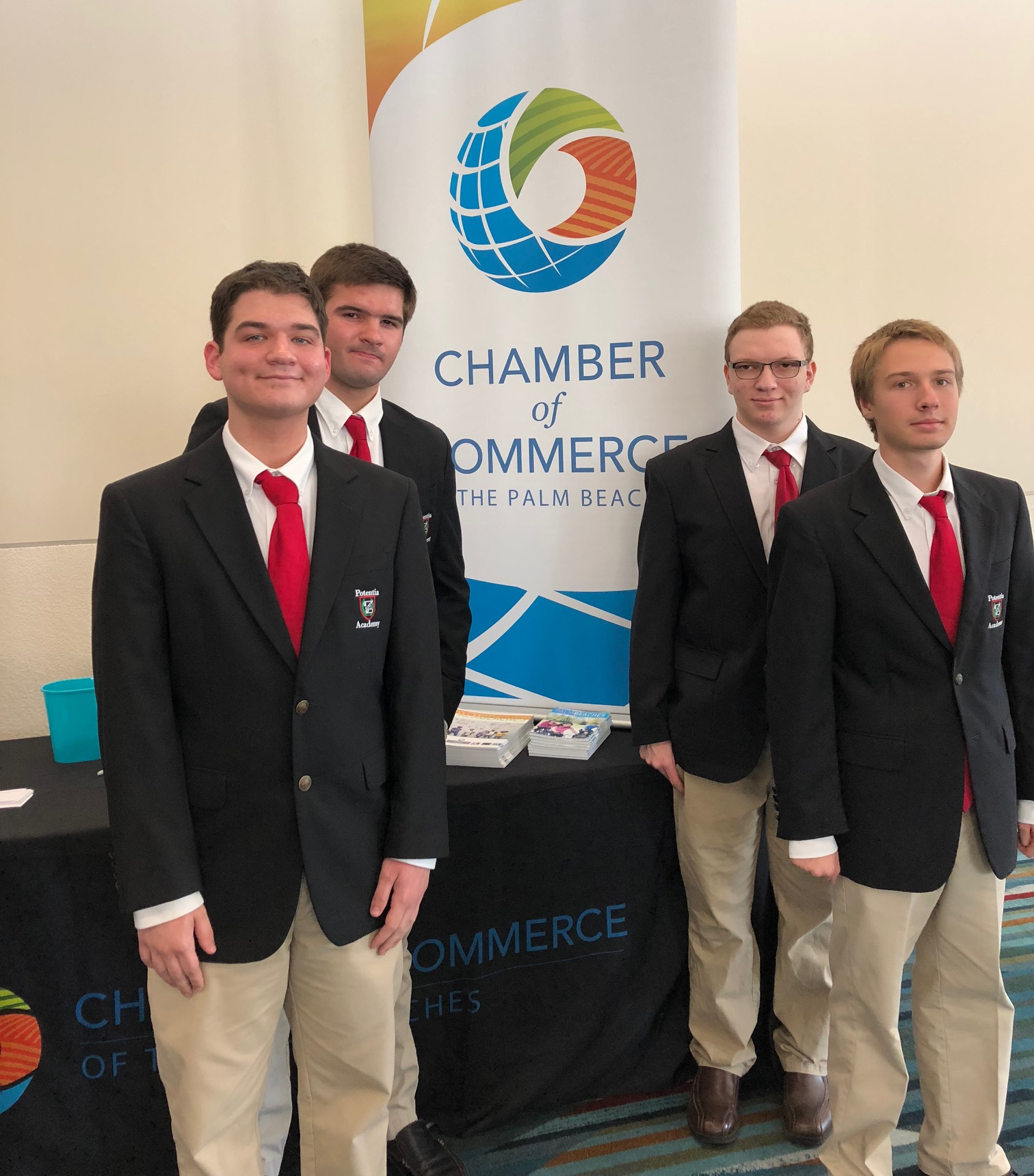 CCREST Students Attend Chamber Luncheon