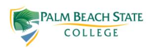 Palm Beach State College Baseball Team at Potentia